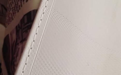 Rilegatura per catalogo punto cucito filo