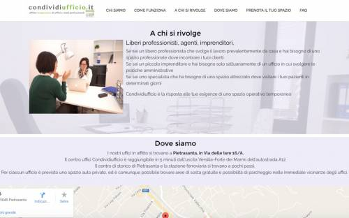 Sito centro uffici office sharing