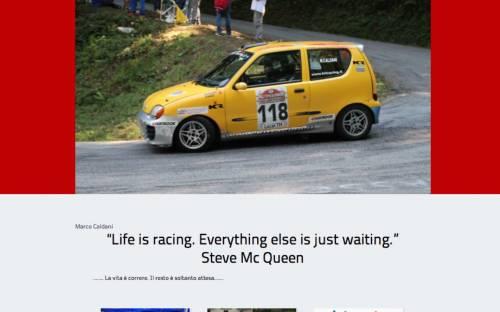 Sito pilota rally